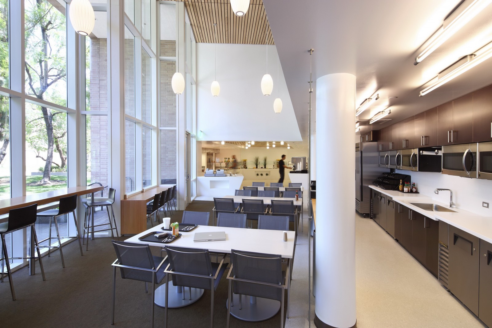 Renovation Warehouse Corporate Cafeteria Renovation Work Eyrc Architects